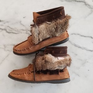 SoftMoc Moccasins Genuine Fur & Leather
